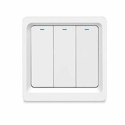BlumWay Interrupteur de gradation WiFi Smart Wireless, installation (3-Gang)