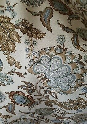 Moda SOMERSET Orange Green Cream 20232 17 Fig Tree QUILT FABRIC