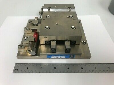 """Star Linear Systems X Linear Stage Optics 1"""" Travel Crossed-Roller Bearing GREAT"""
