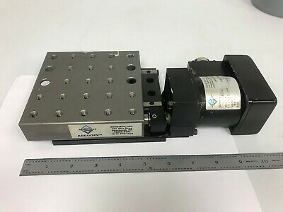 Aerotech ATS03005 X Linear Stage Optics Crossed-Roller Bearing Motorized GREAT!!