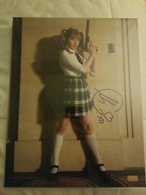 Chloe Grace Moretz Signed 11x14 Autograph Hit Girl kickass celebrity authentics
