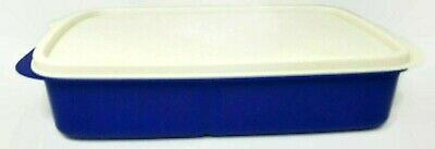 New Tupperware Divided Lunch it  Blue Sapphire FALL SALE FREE SHIPPING