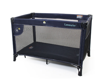Commuter Cot with Suspension Cradle Navy