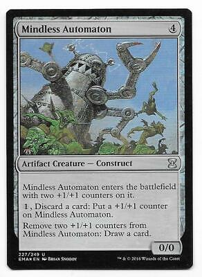 4 Mindless Automaton = Artifact Exodus Mtg Magic Rare 4x x4