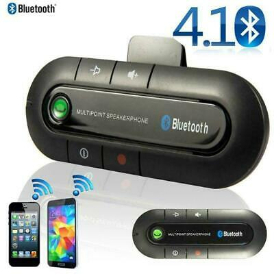 Wireless Bluetooth Handsfree Car Auto Kit Speakerphone Phone Speaker Visor- U6R5