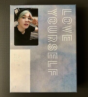 BTS WORLD TOUR [ LOVE YOURSELF - EUROPE ] DVD JIMIN Photocard Only