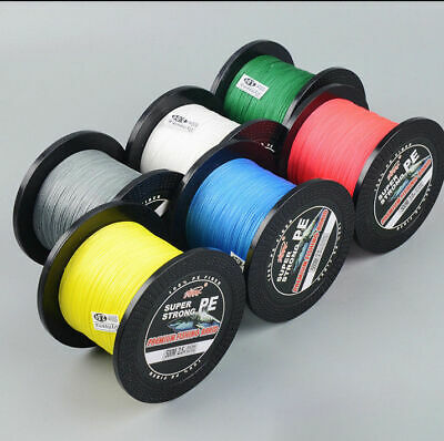500M PE Braid Fishing Line Abrasion Resistant 10 20 30 40 45 50 60 70 80 85 LB