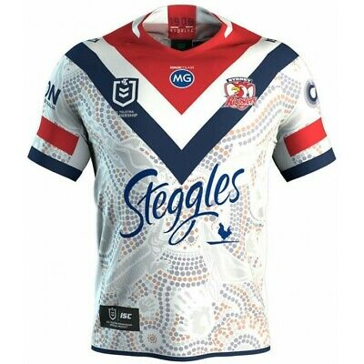 Sydney Roosters 2019 Indigenous Jersey Sizes S & 7XL + Kids 6 - 14 NRL ISC SALE