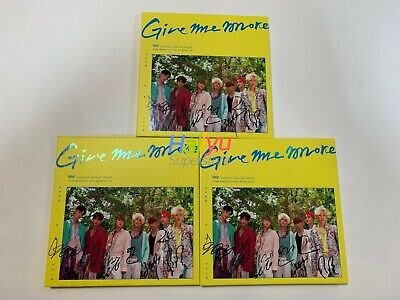 """VAV """"Give Me More"""" Special Album - Autographed Promo Album (9.02 updated)"""