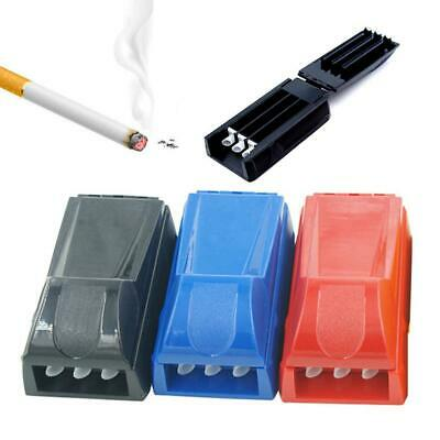 Manual Triple Cigarette Tube Injector Roller Maker Rolling Machine Free Shipping