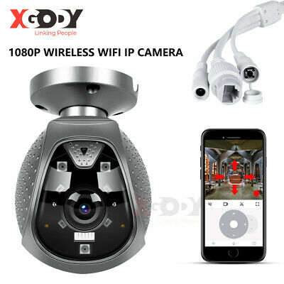 4PCS 1080P 4X Zoom Outdoor Caméra IP Home Wireless Security CCTV IR Night Vision