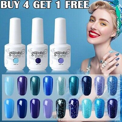 GEL LAB Gel Nail Polish Varnish Lacquer Base Top Coat Manicure Gelpolish 15ml √