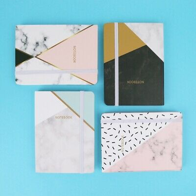 A6 Portable Notebook Pocket Diary Memo Notepad Journal Planner Gift 48 sheets