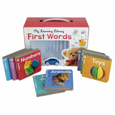 My Learning Library - First Words by Hinkler (Board Book), Children's Books, New