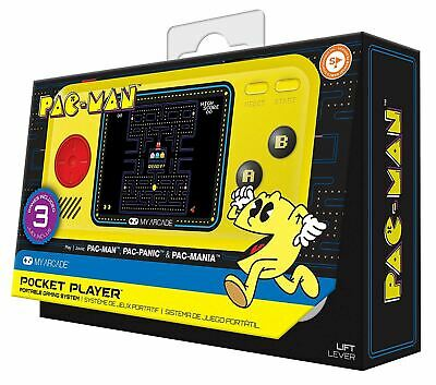 My Arcade Pac-Man Pocket Player Retro Classic PACMAN New and Sealed