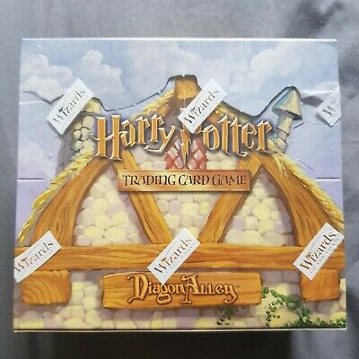 Harry Potter Diagon Alley Booster Box *Sealed* TCG CCG WotC QC