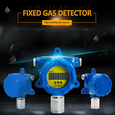 Portable H2S Meter Tester Analyzer Hydrogen Fixed Gas Transmitter Detector