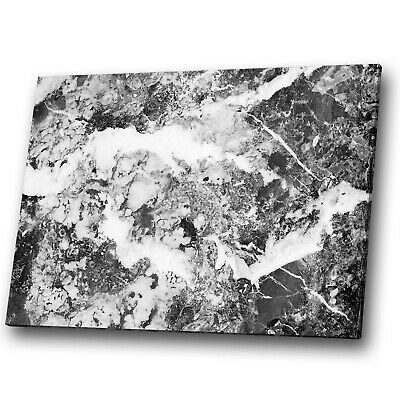 AB985 Grey White Black Cool Modern Abstract Canvas Wall Art Large Picture Prints