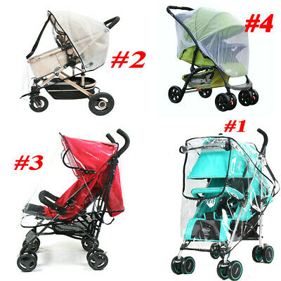 Baby Child Pushchair Stroller Buggy Pram Rain Cover Mosquito Fly Insect Net Mesh
