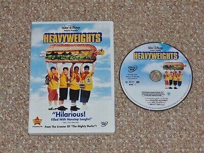 Disney's Heavyweights DVD 2003 Ben Stiller Steven Brill Judd Apatow Canadian
