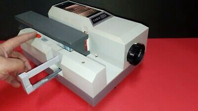 Cabin 1000A 35mm Slide Projector + Manual + Cable Remote AU Plug