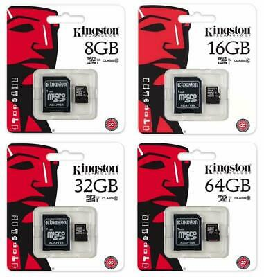 Genuine Official Kingston Micro Sd Sdhc Memory Card Class 4 Sd Card With Adapter