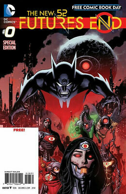 The New 52 : Futures End Issue 0 - Free Comic Book Day Edition Fcbd 2014 - Dc
