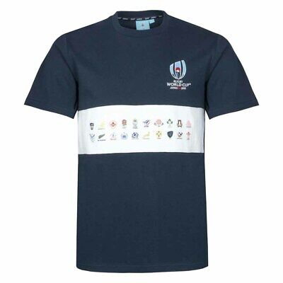 Rugby World Cup 20 Nations Map Tee