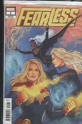 Fearless #1 MARVEL Comics 1:50 Jen Bartel Variant Cover NM
