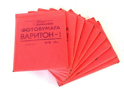 LOT OF 10 13x18cm Photo Paper Packages 250 Sheets Total Variton-1 EXC
