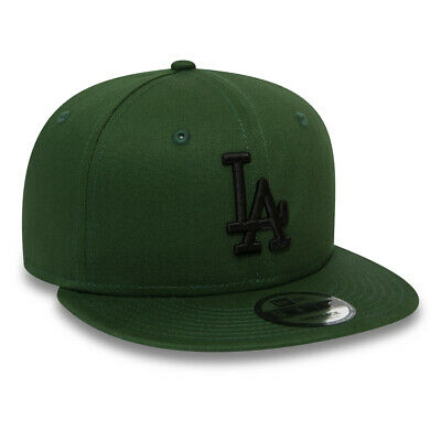 New Era Mens 9Fifty Baseball Cap.la Dodgers Mlb League Green Flat Peak Hat 9S1 4