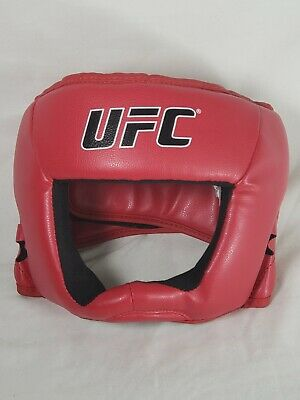 DEFY Head Guard Premium Synthetic Leather MMA Boxing Head Gear UFC Wrestling Helmet Fighting Sparring