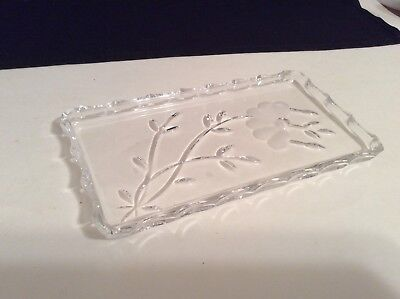 PRINCESS HOUSE Crystal Vanity Tray HERITAGE ROMANCE COLLECTION