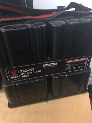 Hawkwoods XB2-600 Floor Battery 26v/24ah And Charger