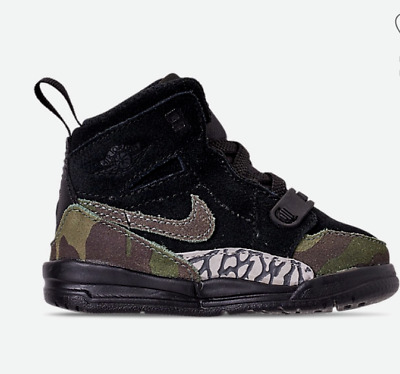 brand new 13617 f6a39 NWB BOY'S TODDLER Air Jordan Legacy 312 Off-Court Shoes Size 8 C AT4055 003  Camo