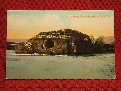 Early 1900'S. Janesville, Wisconsin. Rock, Monteray. Postcard H7