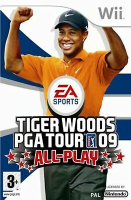 Tiger Woods PGA Tour 09 'All-Play' (Wii) *VERY GOOD CONDITION*
