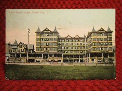 1909. Grand Atlantic Hotel. Atlantic City, Nj Postcard H2