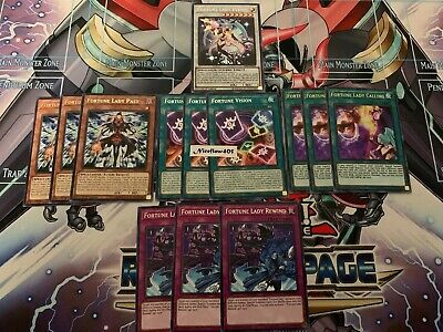 FORTUNE LADY DECK CORE -RIRA- PAST REWIND VISION CALLING EVERY YuGiOh