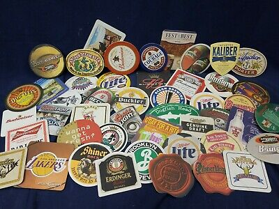 Vintage Some Modern Lot of 20 Mixed Pub Beer Advertising Drink Bar Coasters