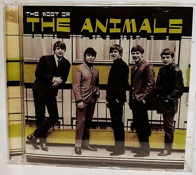 The Animals :  The Most Of The Animals - CD 16 Tracks  NICE !