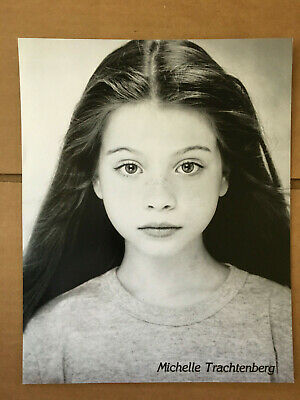 MICHELLE TRACHTENBERG - 8x10 Headshot Photo w/ Resume - Buffy The