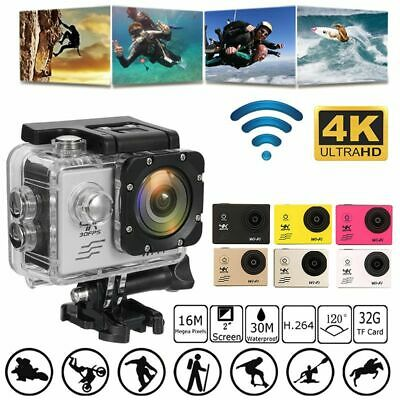 2.0inch 1080P Full HD Waterproof Sports Action Camcorder WiFi Recorder DV Camera