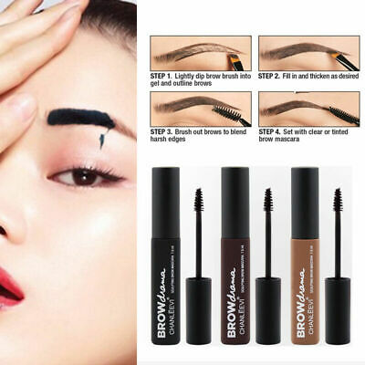 Beauty Makeup Waterproof Long lasting Peel-off-Eyebrow Eye Gel Tint Brow I6C6