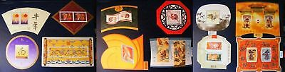 Canada stamp 1997-2008 Complete 12 Lunar New Year Souvenir Sheets Full Set MNH