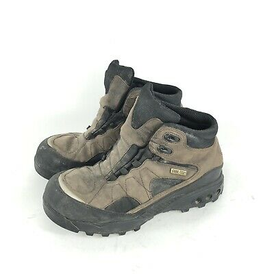 4efcf7f8320 VINTAGE NIKE ACG Boots Mens 10 Brown Leather Goretex Work Snow Hiking  Hunting