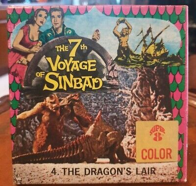 Super 8mm Colour Movie - The 7th Voyage of Sinbad, 4. The Dragons Lair