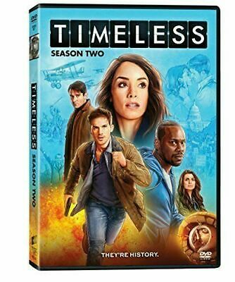 Timeless: The Complete Second Season Two 2 (DVD, 2018, 3-Disc Set) NEW, Sealed