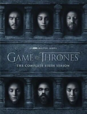 Game of Thrones:Season 6 The Complete 6th season (DVD) New, Free Shipping!