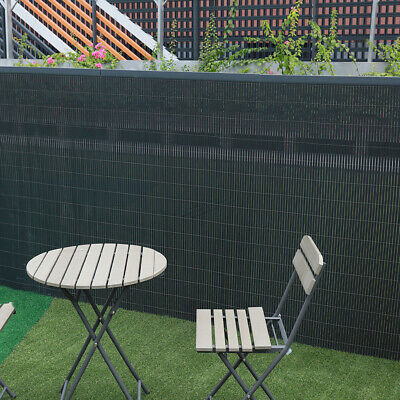 Artificial PVC Bamboo Fence Screen Panels Garden Privacy Fencing Screening Roll